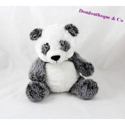 Peluche panda SIMBA TOYS gris blanc Nicotoy 22 cm