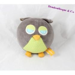 Don ball OWL ORCHESTRA green Grey Owl 17 cm
