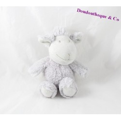 Sheep comforter LA GALLERIA gray long hair