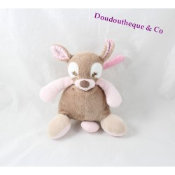 Mushroom mini Rosy doe NATTOU Emil and Rosy pink brown 17 cm