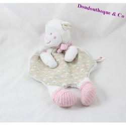NICOTOY Sheepskin flat comforter pink gray