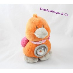 Activity Plush babette duck NOUKIE'S Iris and Babette orange 20 cm