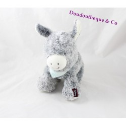 Plush donkey KALOO Regliss activity ' anon friends gray bandanna blue 18 cm