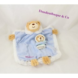 Doudou dish 23 cm Blue KALOO Igloo bear baby doll