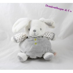 Rabbit ball comforter OBAIBI gray white star 20 cm