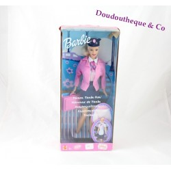 Poupée mannequin Barbie hôtesse de train MATTEL édition Barbie Travel Train
