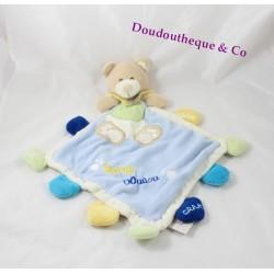 Doudou Chien plat Super Doudou Baby Nat