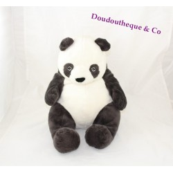 Plush panda IKEA Klappar black white 32 cm sitting