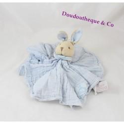 Doudou lapin DOUDOU ET COMPAGNIE Lange L'ange bleu GM DC2364