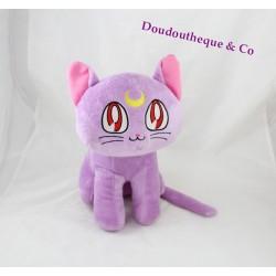 Plush cat SAILOR MOON purple 30 cm manga cartoon