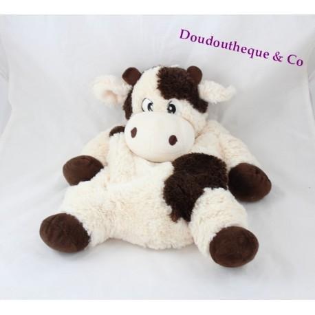 Cow Plush Etam Range Pajamas Doudou Bottle 40 Cm Sos Blanket