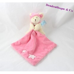 Doudou handkerchief mouse BABY NAT' Luminescent