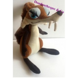 Plush boy-ish PLAY BY PLAY Brown and beige 27 cm ice age