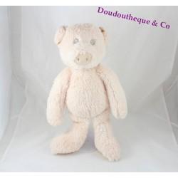 LA GALLERIA pig plush pink scratch 40 cm