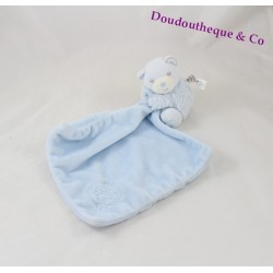 Teddy bear handkerchief KALOO Blue Pearl 12 cm