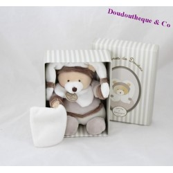 Doudou handkerchief bears DOUDOU and seed company of Binky Brown DC2271 21 cm