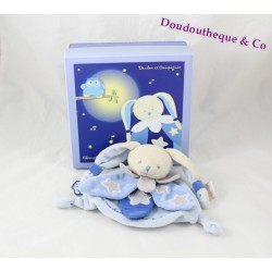 Doudou DOUDOU and company OWL rabbit it shines blue luminescent