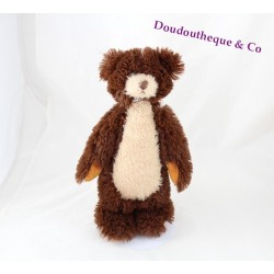 Peluche ours SMALL FOOT COMPANY marron beige 28 cm