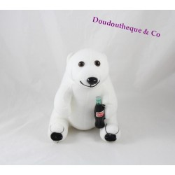 Bear plush COCA-COLA advertising Teddy bear 20 cm white
