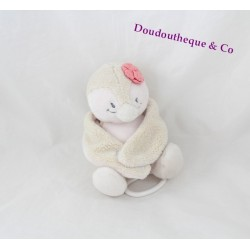 Musical plush Penguin NOUKIE Coco's Daisy and Coco beige 18 cm