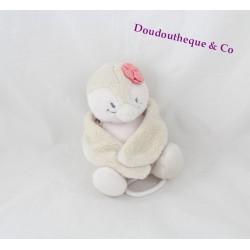Peluche musicale Coco pingouin NOUKIE'S Daisy et Coco beige 18 cm