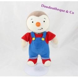 Plush you Charlie AJENA Teddy 24 cm red and blue overalls