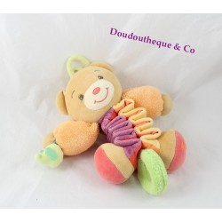 Teddy musical bear KALOO Zig Music Pop stretch orange purple