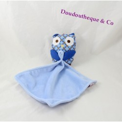 Don nice CHEEKBONE OWL blue handkerchief Intermarché