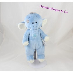 Elephant TATTY TEDDY plush My blue nose friends 27 cm Blue