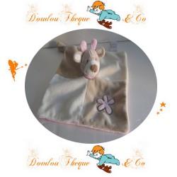 Cow flat blanket baby 9 Brown, beige