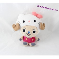 Peluche Hello Kitty BANDAI One Piece Chopper X 20 cm