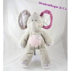 Activity elephant Kali NOUKIE stuffed ' S Kali Nina and Kenza 44 cm