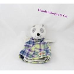 Doudou marionnette raton laveur MOULIN ROTY La Grande Famille 24 cm