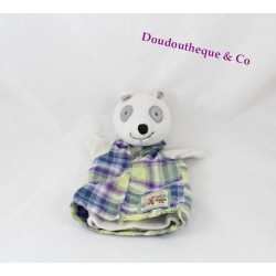 Doudou puppet raccoon MOULIN ROTY family 24 cm