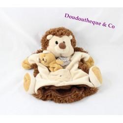 Doudou marionnette hérisson HISTOIRE D'OURS renard marionnette à doigt