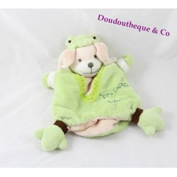 Doudou puppet Bunny BLANKIE and company frog my rabbit croaa