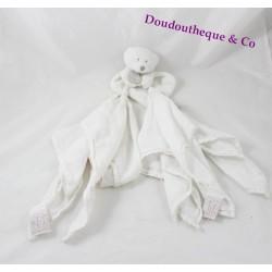 Doudou l'ange ours DOUDOU ET COMPAGNIE blanc ours lange Créateur de rêves
