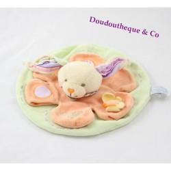 Doudou Loupichou Bunny BLANKIE and company round 22 cm dish