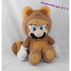 Plush Mario SUPER MARIO 3D LAND Nintendo super power raccoon 32 cm