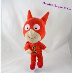 Plush Samsam Super Hero Sam Sam Red