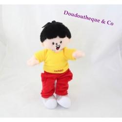 HARIBO advertising red and yellow 30 cm plush boy doll