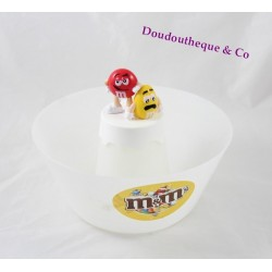 Advertising M & m's Bowl red and yellow plastic 20 cm