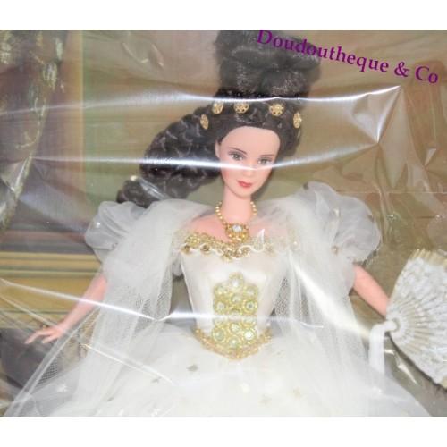 Poupée Impératrice Mattel Sissy Doré Barbie Et Blanche Sissi Robe 4Rq5AjL3