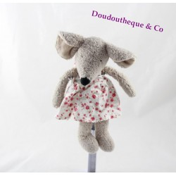 Plush mouse JELLYCAT Molly flowered dress in tissue 23 cm