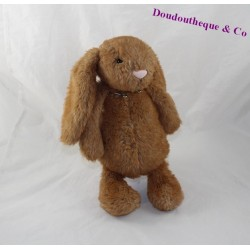 JELLYCAT Bashfuls rabbit plush Brown Jelly3297 28 cm