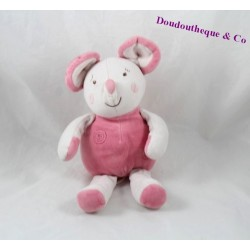 Plush mouse pink candy CANE