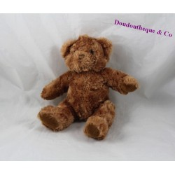 Teddy bear KEEL TOYS brown hair long 21 cm