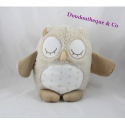 Doudou Nighty Night owl nice CLOUD B OWL sounds soothing beige baby
