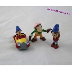 Lot de 3 figurines PLASTOY Oui Oui Mademoiselle Ouistiti