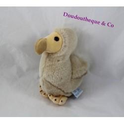 Peluche oiseau dodo WALLY PLUSH TOYS Mauritius beige 18 cm